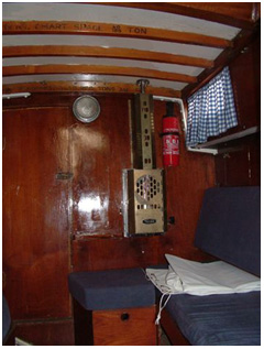 Interior Sallon to Starboard